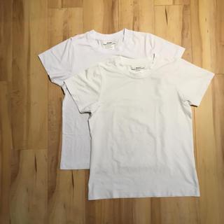 ザノースフェイス(THE NORTH FACE)のMXP Tシャツ 2枚セット ホワイト S MW16102(Tシャツ(半袖/袖なし))