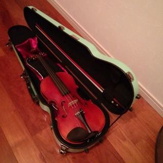 未使用に近い イーストマン ハードケースとノーラベルのバイオリン Eastman