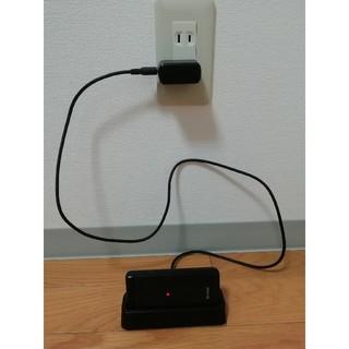 アクオス(AQUOS)のAQUOS SH-N01 ケータイ ガラホ 防水 防塵 充電器付属 楽天モバイル(携帯電話本体)