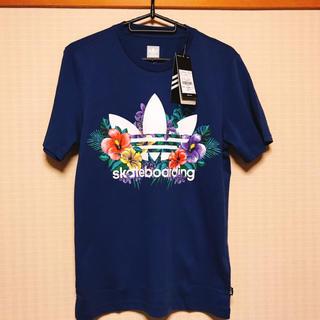 アディダス(adidas)の【新品】adidas Originals/FLORAL Tシャツ/XSサイズ(Tシャツ/カットソー(半袖/袖なし))