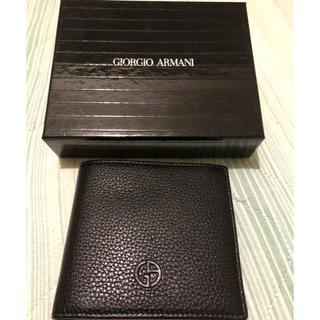 ジョルジオアルマーニ(Giorgio Armani)の【新品未使用】ジョージオアルマーニ 財布(折り財布)