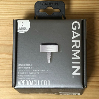 GARMIN - Garmin Approach CT10 3 sensors 新品未使用