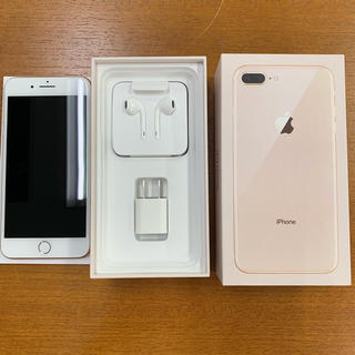 iPhone - 【中古】iPhone8 Plus 256GB Gold SIMロック解除済