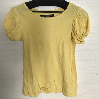 ニードルワークスーン(NEEDLE WORK SOON)の値下げ!ニードルワークスーン140黄色お袖バルーン(Tシャツ/カットソー)