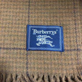 バーバリー(BURBERRY)のBurberry バーバリー 膝掛け/ブランケット(その他)