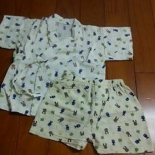 ニシマツヤ(西松屋)の甚平 男の子 90 カブト虫(甚平/浴衣)