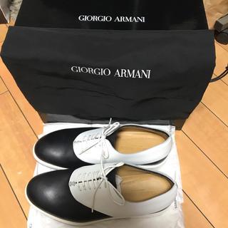 ジョルジオアルマーニ(Giorgio Armani)の【美品ほぼ未使用】giorgio armani 靴(ドレス/ビジネス)