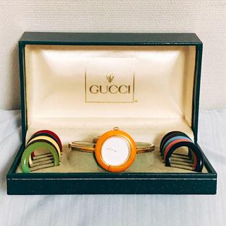 Gucci - GUCCI 腕時計 チェンジベゼル グッチ