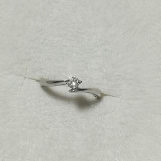 マーガレットハウエル(MARGARET HOWELL)のプラチナ ダイヤモンド リング(リング(指輪))