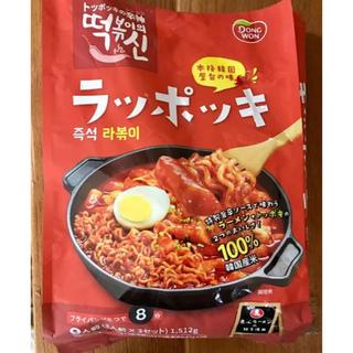 コストコ(コストコ)のラッポッキ コストコ 韓国(インスタント食品)