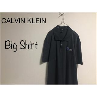 カルバンクライン(Calvin Klein)の90's 古着 CALVIN KLEIN オーバーサイズ ビッグ ポロシャツ(シャツ)