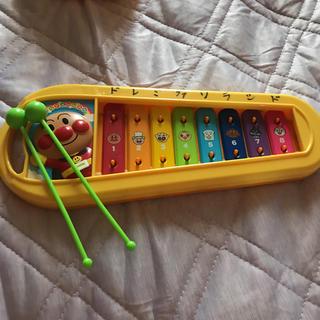 アンパンマン(アンパンマン)のアンパンマン 鉄琴(楽器のおもちゃ)