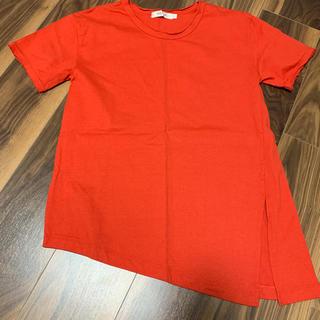 マウジー(moussy)のMOUSSY Tシャツ アシンメトリー  スリット(Tシャツ(半袖/袖なし))