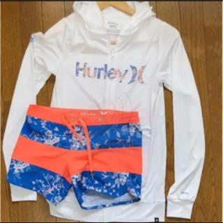 ハーレー(Hurley)のハーレーラッシュガード  上下セット(水着)