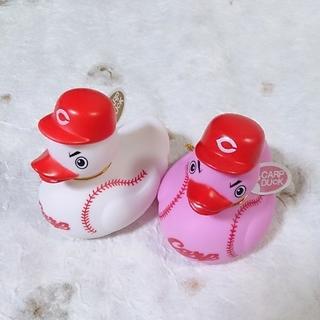 ヒロシマトウヨウカープ(広島東洋カープ)の広島カープ ダック《Pink・Ball》2個セット(応援グッズ)
