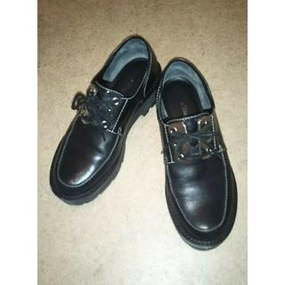 3.1 Phillip Lim - 3.1 Phillip lim レースアップシューズおじ靴36(23.5cm)黒