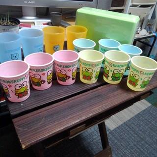 サンリオ(サンリオ)のQOOとケロケロケロッピのカップ(キャラクターグッズ)