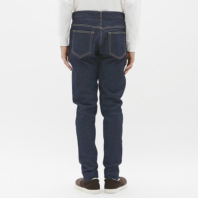 GU(ジーユー)のGU キャロットジーンズ メンズのパンツ(デニム/ジーンズ)の商品写真