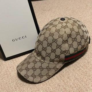 Gucci - 国内正規品 GUCCI グッチ キャップ 帽子 シェリーライン CGモノグラム