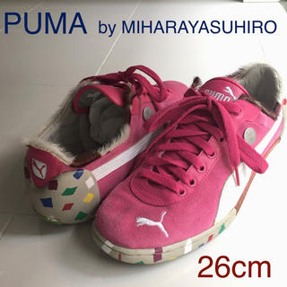 プーマ(PUMA)のUSED PUMA by MIHARAYASUHIRO コラボスニーカー26cm(スニーカー)