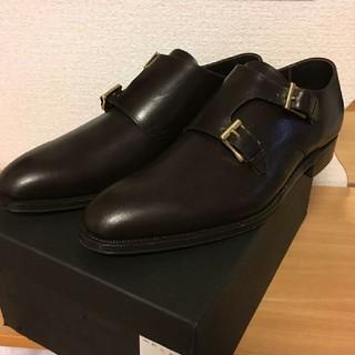 リーガル(REGAL)のダブルモンク 革靴 25cm グッドイヤーウェルト製法(ドレス/ビジネス)