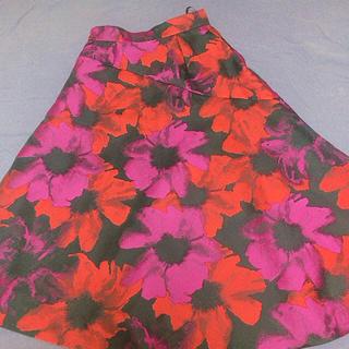 フレイアイディー(FRAY I.D)の花柄ロングスカート 日曜日まで限定価格(ロングスカート)
