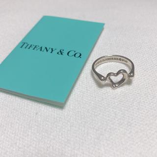 ティファニー(Tiffany & Co.)のティファニー リング  オープンハート シルバー 6号 TIFFANY(リング(指輪))