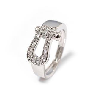 18K金コーティング⭐︎ホースシュー指輪 (リング(指輪))