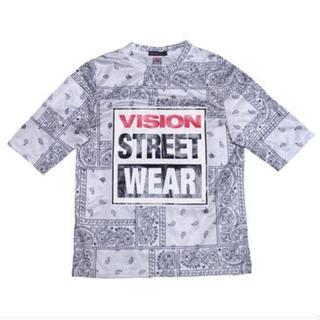 ハーフマン(HALFMAN)のHALFMAN/VISION(ハーフマン/ヴィジョン) ペイズリー柄Tシャツ(Tシャツ/カットソー(半袖/袖なし))