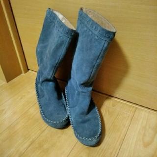ブーツ レディース スエード(ブーツ)