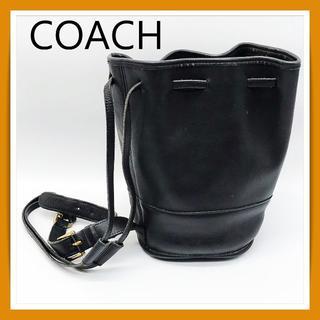 コーチ(COACH)のK214/COACH コーチ【肩掛け、バケットバック】革(黒)レディース(その他)