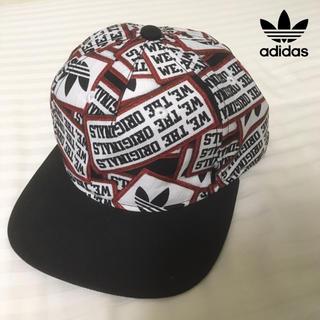 adidas - adidas トレフォイル柄 キャップ