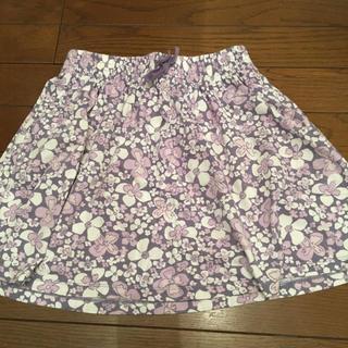 ユニクロ(UNIQLO)の花柄スカート(スカート)