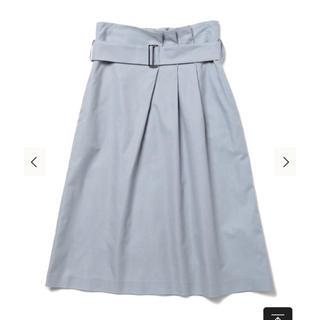 デミルクスビームス(Demi-Luxe BEAMS)のDemi-Luxe BEAMS ベルトタックスカート (ひざ丈スカート)