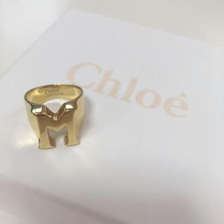 クロエ(Chloe)の【超人気アイテム】Chloe♡アルファベットリング M【美品】(リング(指輪))