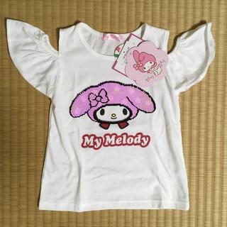 マイメロディ - リバーシブルスパンコールTシャツ