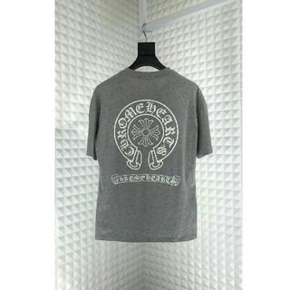 クロムハーツ(Chrome Hearts)の新品美品chrome heart U.S.A グレーのTシャツ *SIZE(L)(Tシャツ/カットソー(半袖/袖なし))