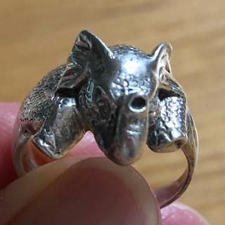 SILVER指輪 象(リング(指輪))