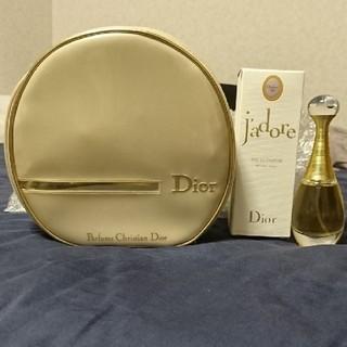 クリスチャンディオール(Christian Dior)のChristian Dior J'adore ポーチ付 レア(香水(女性用))