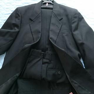 冠婚葬祭 礼服  ブラック スーツ 上下 クリーニング済(セットアップ)