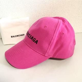 Balenciaga - BALENCIAGA バレンシアガ キャップ ピンク