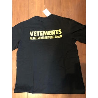 saintvêtement (saintv・tement) - vetements ヴェトモン Tシャツ18ss美品 dude9系