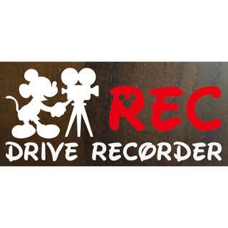 ディズニーRECドライブレコーダーステッカー