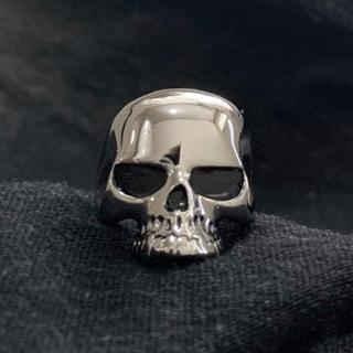 ドクロデザインリング 骸骨 シルバー 指輪(リング(指輪))