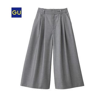 ジーユー(GU)の【GU】イージーガウチョパンツ Mサイズ(カジュアルパンツ)