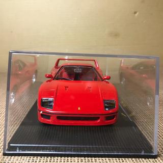 フェラーリ(Ferrari)のブラーコ 1/24 フェラーリF40 ミニカー クリアケース付き(ミニカー)