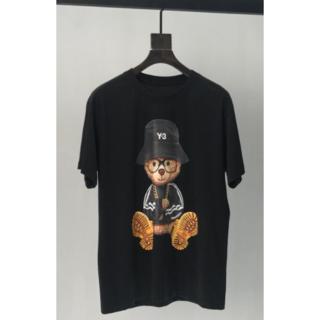 Y-3 - Y-3 ブラック くま Tシャツ