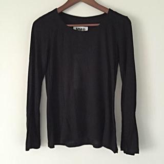 マルタンマルジェラ(Maison Martin Margiela)の新品タグ付き★MM6カットソー(Tシャツ(長袖/七分))