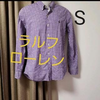 ラルフローレン(Ralph Lauren)の●ラルフローレンシャツ S(Tシャツ/カットソー(七分/長袖))