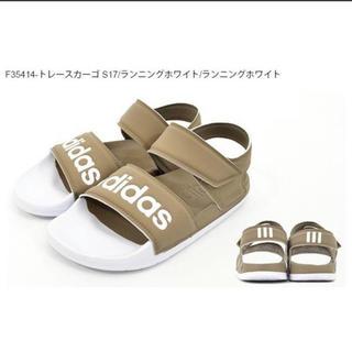 アディダス(adidas)のADILETTE SANDAL adidas スポーツサンダル ベージュ (サンダル)